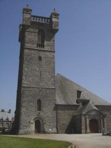 extérieure église saint-pierre-eglise
