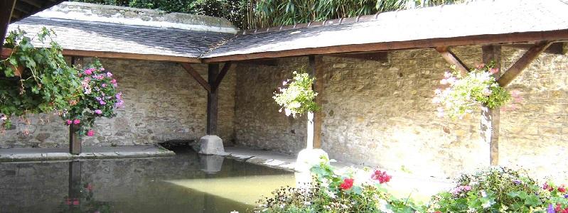 Pano lavoir à saint-pierre-eglise