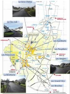 Plan Saint Pierre lotissements saint-pierre-eglise