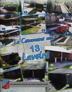 les 13 lavoirs de saint-pierre-eglise